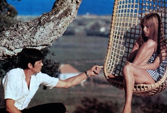 "Film ""La Piscine ""   Romy&Alain&Jane"